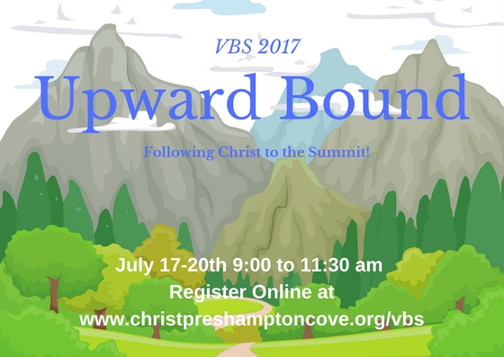 Vacation Bible School: Upward Bound!